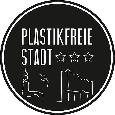 Plastikfreie Stadt Hamburg Pin