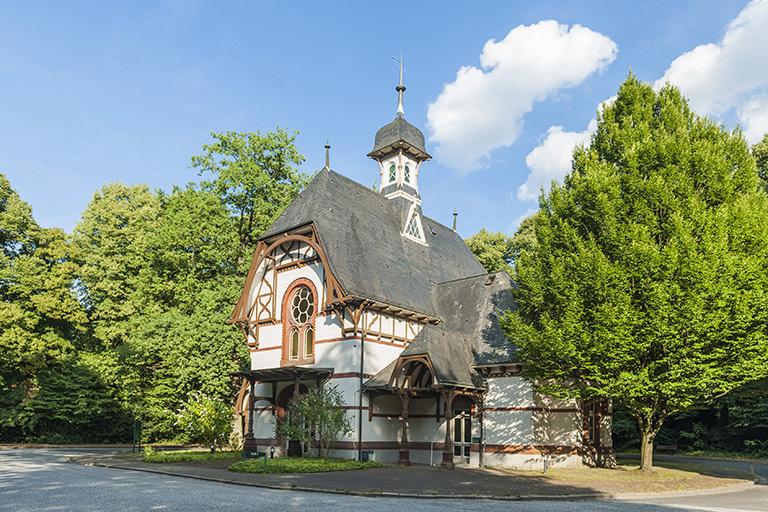 Kapelle 3 Ohlsdorf der Park
